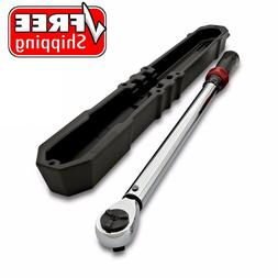 Craftsman Micro-Clicker Torque Wrench 1/2 in Drive 20-150 Ft