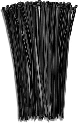 "11"" Black 50Lb  Zip Ties, Choose Size/Color, By Bolt Dropper"