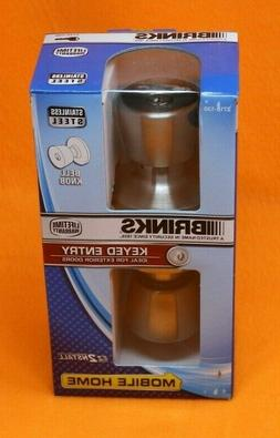 Brinks 2710-130 Mobile Home Keyed Entry Tulip Style Door Kno
