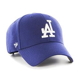 MLB Los Angeles Dodgers Mvp Adjustable Hat, One Size, Home C