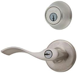 Kwikset 690 Balboa Entry Lever and Single Cylinder Deadbolt