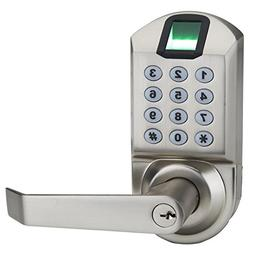 Fingerprint Door Lock, Ardwolf A1 Keyless Biometric Keypad L