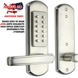 Home Door Handle Mechanical Lock Security Keyless Keypad Com