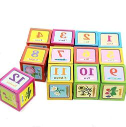 Dazzling Toys Alphabet, Number and Picture Puzzle on Cubes 6