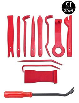 LEICESTERCN Auto Trim Removal Tool Kits for Car Audio Dash D