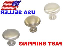 Brushed Nickel or Bronze Pull Handle Knob For Cabinet Drawer