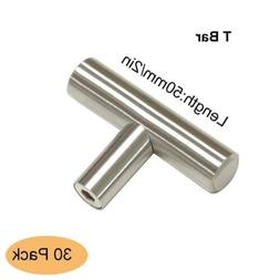 Gobrico Brushed Stainless Steel Single T Bar Door Handles 2i