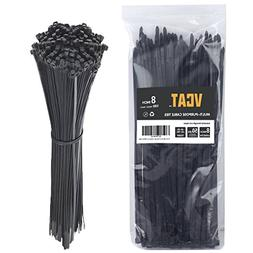"Cable Ties, 8"" Nylon Zip Cable Ties, 0.2''width, Large 50 LB"