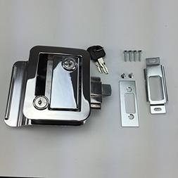 NEW RecPro CHROME RV CAMPER TRAILER MOTORHOME PADDLE ENTRY D