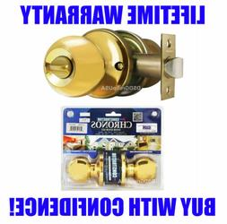 Constructor Chronos Privacy Knob Handle Door Lockset Bed & B