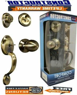 comfort entry lock set exterior door knob