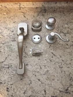 complete dummy teton door handle handleset kit