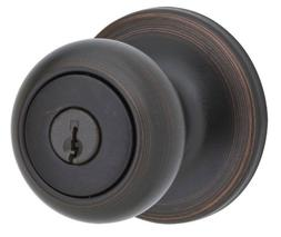 Kwikset 94002-541 Venetian Bronze Cove Entry Knob Lockset