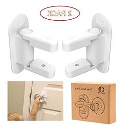 Comfy mee Door Lever Lock For Kids,Child Safety Proof Handle