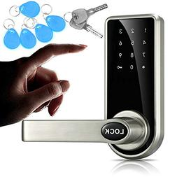 JASIT Door Lock Smart Keyless Digital Electronic Touchscreen