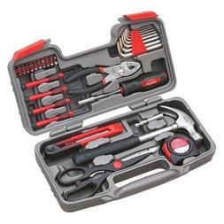 Apollo DT9706 39 Piece General Tool Set, Red