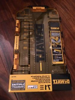 "DEWALT DWMT73808 Multi-Bit & Nut Driver Set , 1/4""  New. Fas"