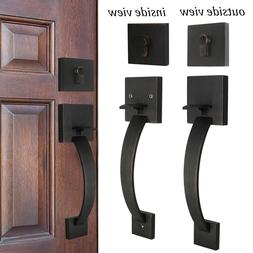 exterior front entry door handle set 2sides