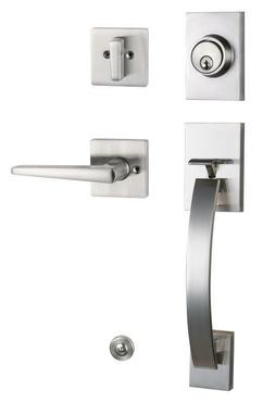 Front Door Handleset and Back Entry Door Handle Right And Le