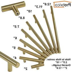 gold stainless steel kitchen cabinet door handles