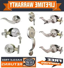 Constructor Handle Set Deadbolt Lever Entry Privacy Passage
