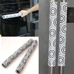 OUGAR8 Handmade Refrigerator Door Handle Cover-Catches Drips