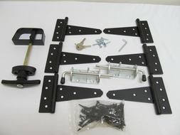 "New Heavy Duty Shed Gate double door hardware kit: Kit 5""Hin"