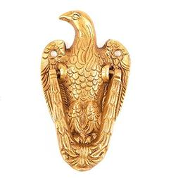 IndianShelf 1 Piece Handmade Crafted Brass Vintage Eagle Doo