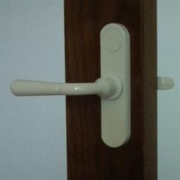 INSWING - Storm Door Handle  White 3/4 Inch Thick Door