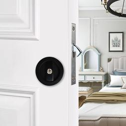 Invisible Door Gate Cup Handle Lock with Keys For Sliding Ba