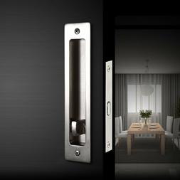 Invisible Durable Door Locks Handle with Keys for Wood Slidi