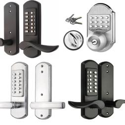 Keyless Mechanical Door Lock Digital Code Entry Combination