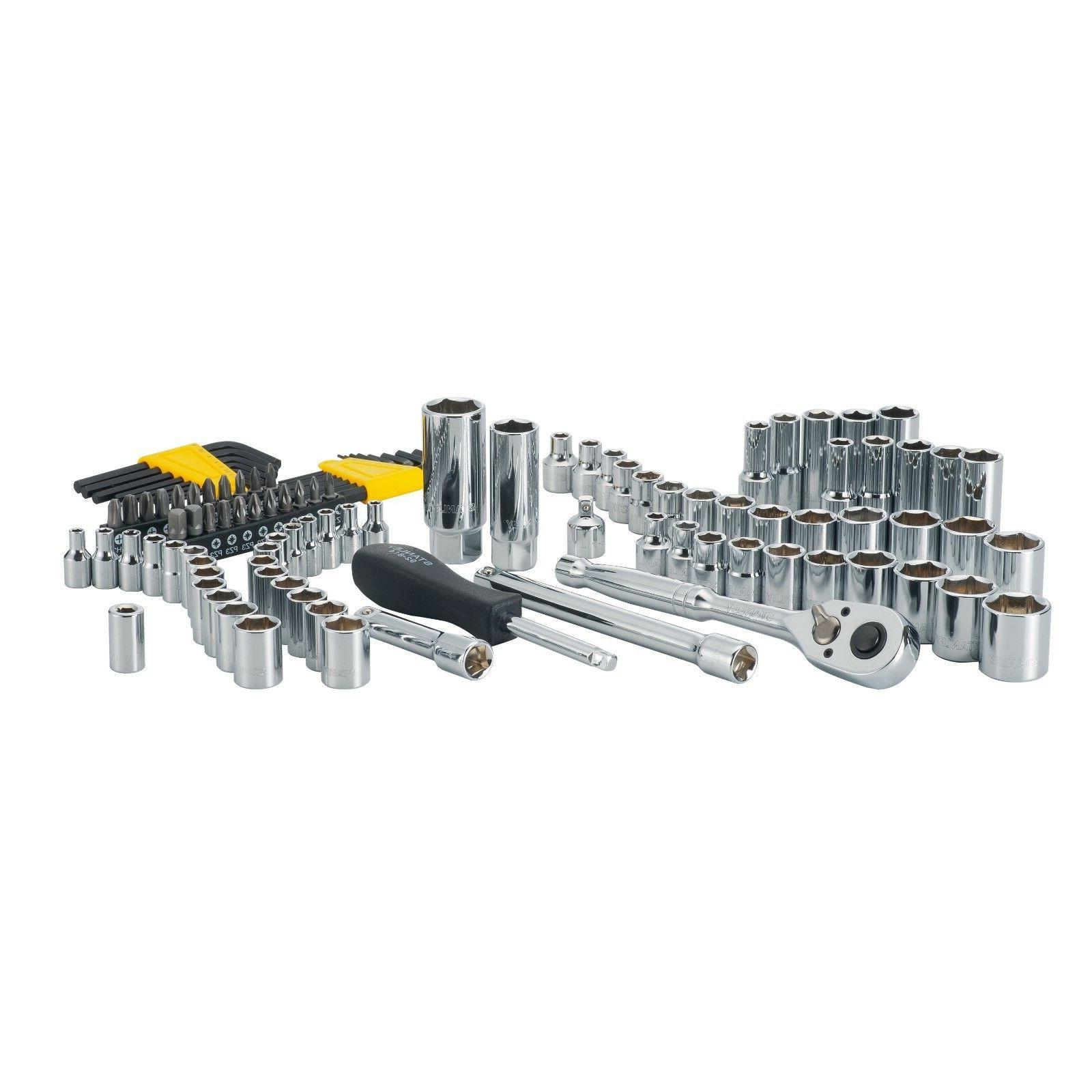 105 pc chrome sae metric mechanics tool