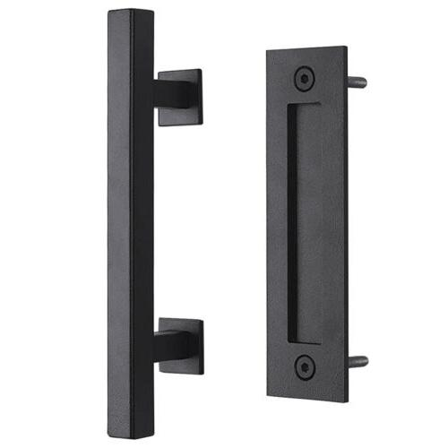 12 sliding barn door handle pull flush