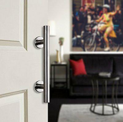 "12"" Stainless Steel Pull and Flush Handle for Door Hardware"