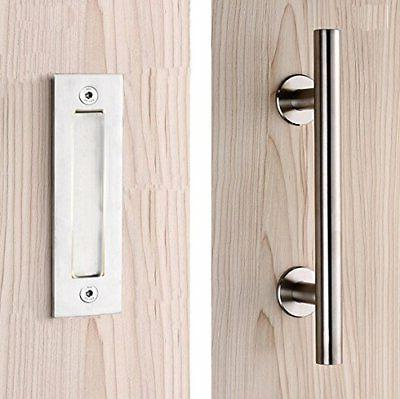 12 stainless steel pull and flush handle