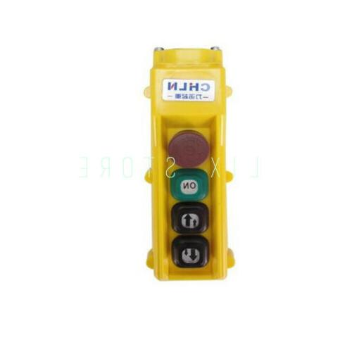 1pc cob 61ht two speed push button