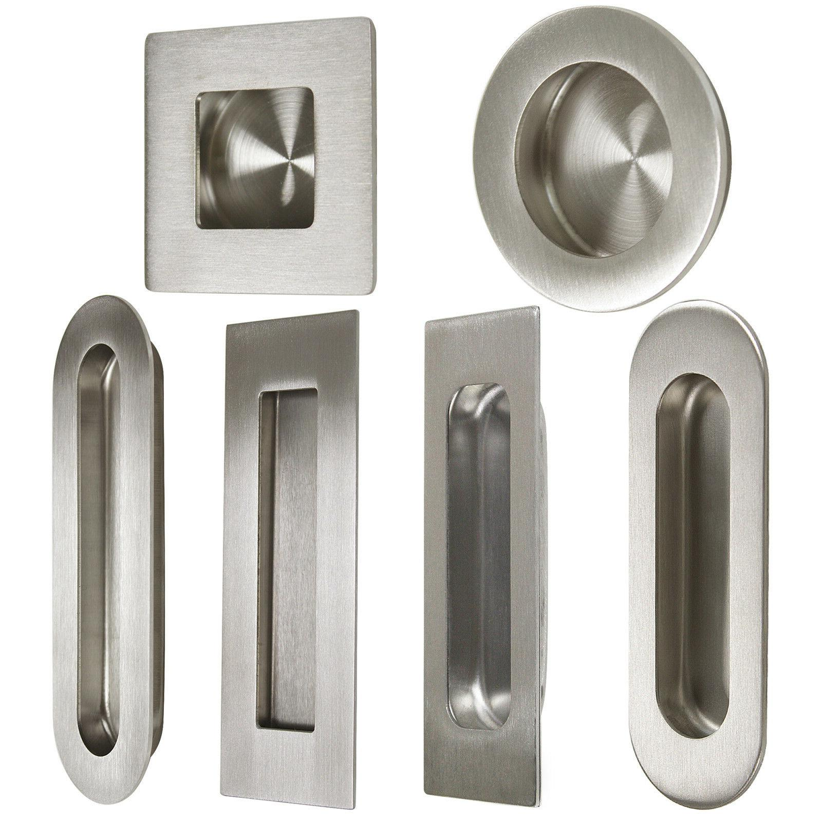 304 stainless steel recessed flush handles