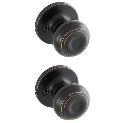 Honeywell 8101403 Classic Passage Door Knob, Oil Rubbed Bron
