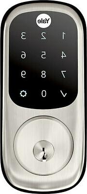 Yale Locks Assure Lock Touchscreen with Z-Wave in Satin Nick