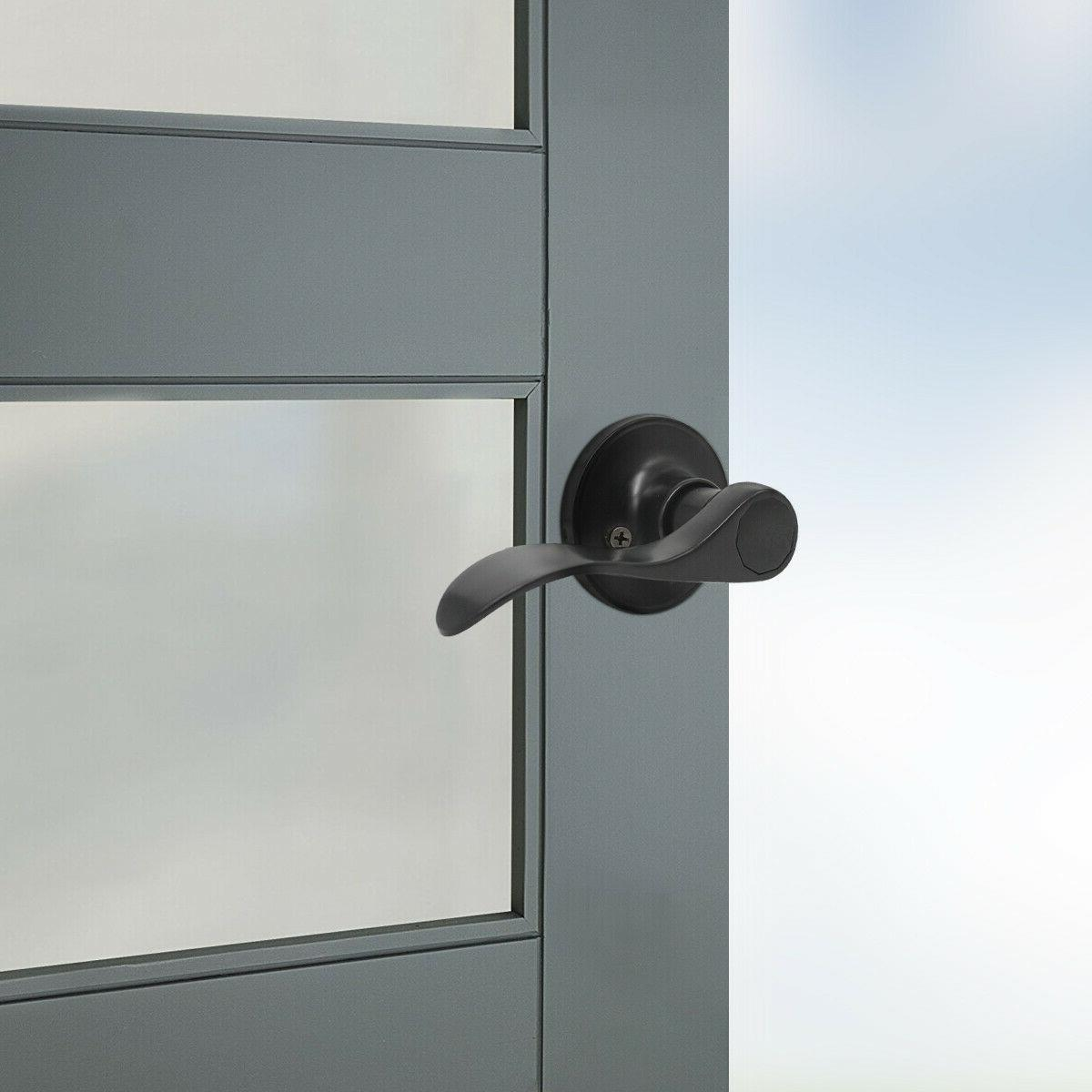 Probrico Black Exterior Entry set with Wave Right