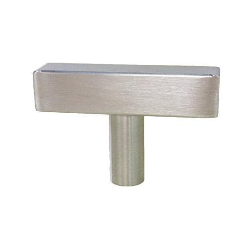 homdiy Cabinet Knobs Pack Knobs Cabinets - HDJ22SN with Length Drawer Modern Cabinet Hardware Knobs for Closets,