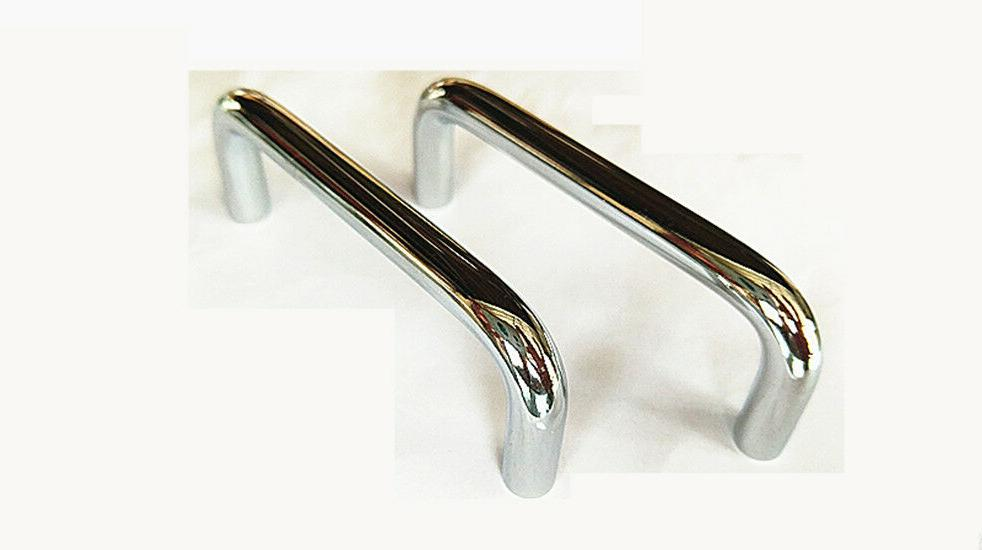 Cabinet Pull Door Steel Kitchen Knob Chrome