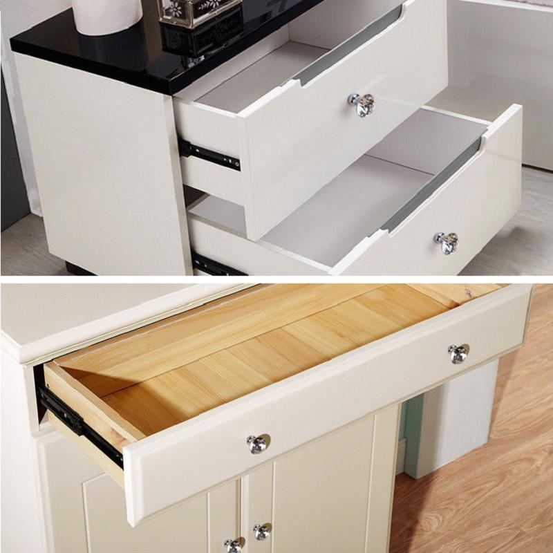 Crystal Door Drawer Cupboard Furniture