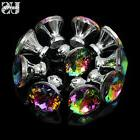diamond door drawer pull handles colorful crystal