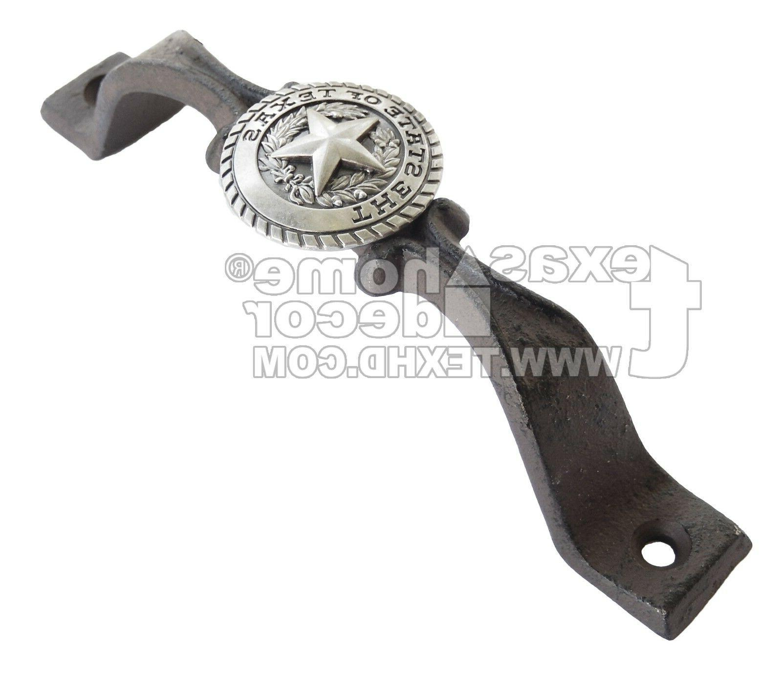 door handle the state of texas star