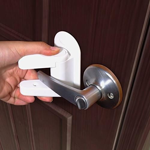 Door Lock Child Proof Handles 3M Child Safety By Tuut