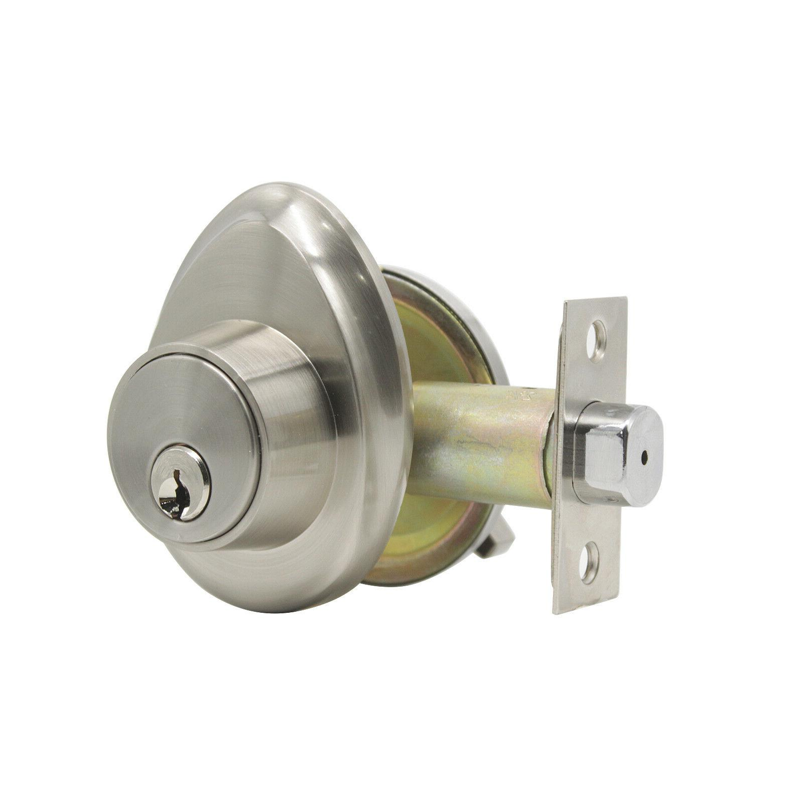 Entry Front set Lock Deadbolt Privacy Passage