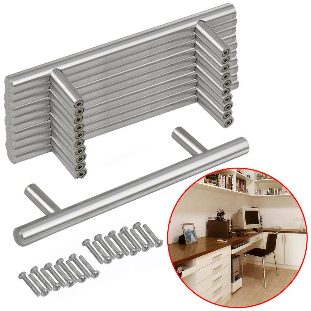 Cabinet Door Bar Cupboard Drawer Pulls