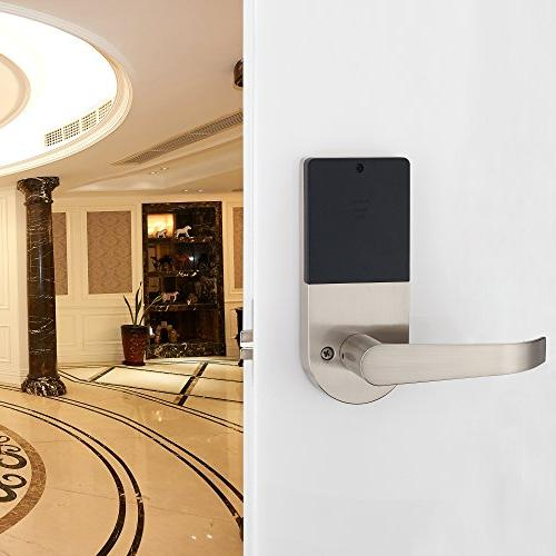 HAIFUAN Lock,Unlock with Remote Card, and Direction Reversible